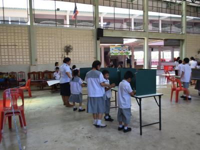 เลื่อกตั้งประธานนักเรียน ประจำปีการศึกษา2562